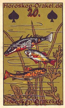 Die Fische - Gro�es Gl�ck in allen Lebensbereichen