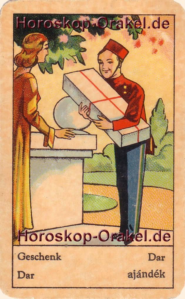 Geschenk ist Ihr Tageshoroskop