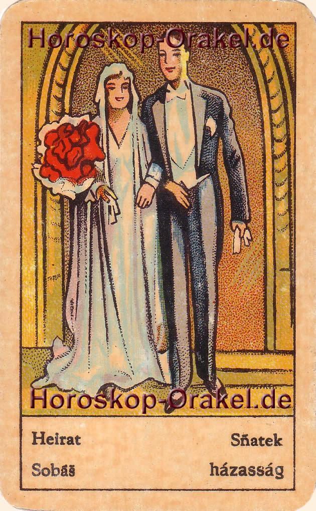 Heirat ist Ihr Tageshoroskop