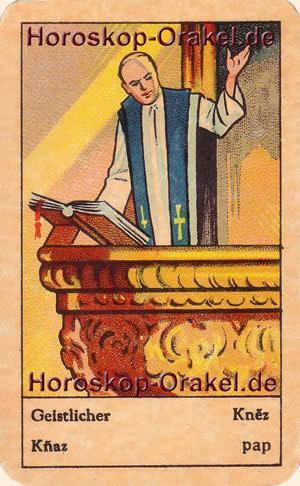 Geistlicher ist Ihr Tageshoroskop