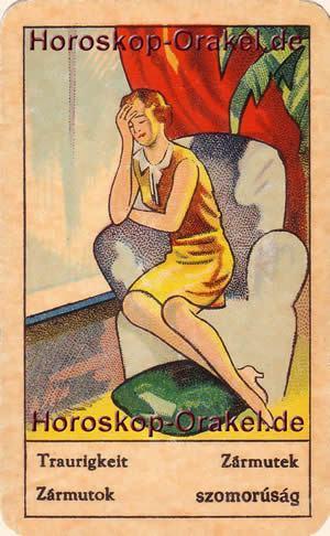 Traurigkeit ist Ihr Tageshoroskop