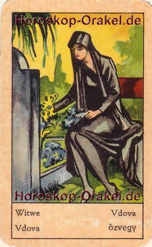 Witwe ist Ihr Tageshoroskop